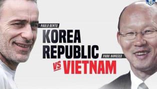 Trận tranh Siêu Cup khu vực giữa tuyển Việt Nam và tuyển Hàn Quốc nguy cơ không thể diễn ra khi hai bên không thể thống nhất được thời gian thi đấu. Hồi giữa...