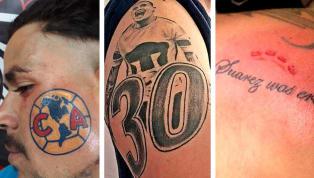 El futbol es uno de los deportes que más pasiones levanta en los aficionados. Aunque algunos fanáticos han llevado todo al extremo, y han decidido tatuarse...