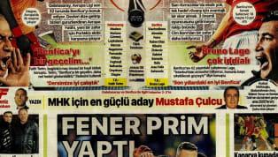 Galatasaray'ın Benfica sınavı öncesindeki gelişmeler ağırlıklı olarak günün haberlerinde yer bulmuş durumda. Perşembe gününün öne çıkan haber başlıkları şu...