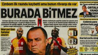Galatasaray'ın Benfica karşısında elde ettiği 2-1'lik yenilgi, günün haberlerinde ağırlıklı olarak yer bulmuş durumda. Evkur Yeni Malatyaspor-Beşiktaş maçı...