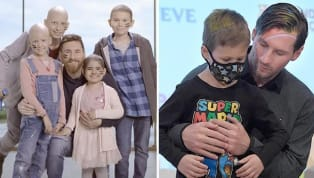 ​Barcelona legend ​Lionel Messi is ​continuing to fulfil his commitment in showing the willingness to fight against childhood cancer with the help of his...