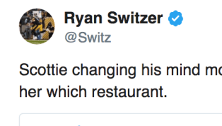 This is how you let him know he messed up! Steelers WR Ryan Switzer took to Twitter on Thursday to comment on NBA legend Scottie Pippen's...