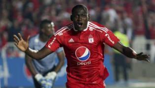 Cristhian Martínez Borja jugador colombiano quien solo logro anotar un solo gol durante los últimos seis meses que paso por el cuadro deLiga Deportiva...