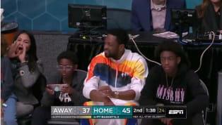 Dwyane Wadefue el fanático número uno de su ex compañero delMiami Heat,Ray Allen, que se robó las miradas del Juego de Celebridades previo al All Star...