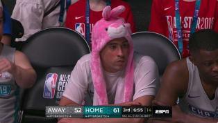 El cantante boricua de trap, Bad Bunny, se robó las miradas en elJuego de las Celebridades previo al All Star Gameno por sus tiros, rebotes o asistencias,...