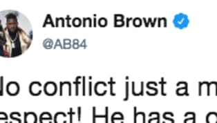 ​​Antonio Brown is making sure that his side of the story is documented as he continues to push for an exit from the Steelers. AB was asked about the conflict...