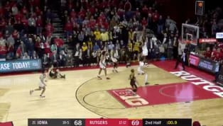 ​The Hawkeyes survive! Talk about a roller-coaster ride of emotions for No. 21 Iowa on Saturday night. Up late against Rutgers, the Scarlet Knights drilled a...