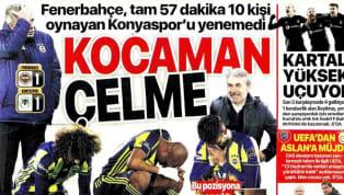 Fenerbahçe'nin Atiker Konyaspor ile 1-1 berabere kaldığı maçın ayrıntıları günün haberlerinde ağırlıklı olarak yer buldu. Galatasaray'ın Kasımpaşa deplasmanı...
