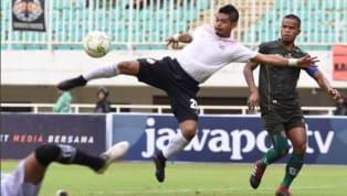 Persija Jakarta mencetak dua gol tandang penting pada leg satu 16 besarPiala Indonesia 2018/19di markas TIRA-Persikabo, Stadion Pakansari, Kabupaten...