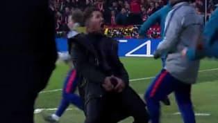 Khi Jose Gimenez ghi bàn mở tỉ số vào lưới của Juventus ở trận đại chiến Champions League rạng sáng 21/1, huấn luyện viên Diego Simeone đã có màn ăn mừng cực...