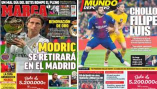 El diario As se hace eco en su portada de los mil días que cumple el Real Madrid como rey de Europa. Y es que el club blanco lleva como campeón de la...