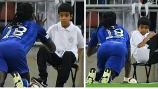 Una peculiar imagen nos dejó la jornada 21 de laSaudi Professional League,Al-Hilal yAl-Ittihad FC se veían las caras en el Prince Abdullah al-Faisal...