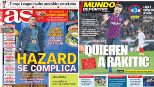 El diario As se hace eco de la noticia sobre la sanción al Chelsea. Y es que la FIFA prohibió al conjunto inglés fichar hasta 2020 por casos de irregularidad...