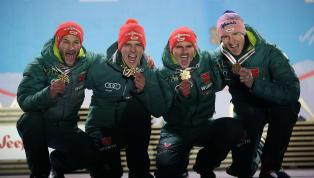 Der Siegeszug der deutschen Athleten bei der Skisprung-Weltmeisterschaft in Innsbruck setzte sich auch am gestrigen Sonntag fort. Dabei gelang den Männern...