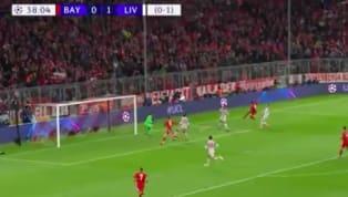 Bayern Munich bất ngờ có bàn gỡ hòa 1-1 sau khi Joel Matip lóng ngóng đệm bóng vào lưới nhà từ pha cắt bóng vào trong của Serge Gnabry. 1-1 cho Bayern nhưng...