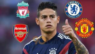 Real Madrid đã ra giá 50-70 triệu Euro cho bất kỳ đội bóng nào muốn sở hữu James Rodriguez vào Hè 2019 này khi mà hợp đồng cho mượn tại Bayern Munich hết hạn....