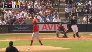 New York YankeesstarAaron Judgehas been destroying the baseball all spring, and he continued that good work on Friday against the Boston Red Sox. For the...