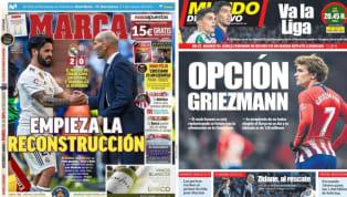 El diario As recoge en su portada la victoria del Real Madrid en la vuelta de Zidane en la que el francés indultó a los 5 postergados de Solari. En este...