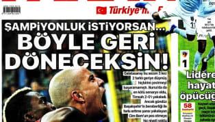Galatasaray'ın Bursaspor deplasmanındaki geri dönüşü günün haberlerinde ağırlıklı olarak işlenmiş durumda. Haftanın ilk gününde öne çıkan haber başlıkları şu...