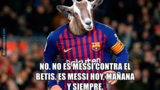 ElFC Barcelonase hizo con los tres puntos ejerciendo como visitante en elBenito Villamarín, poniéndose diez por delante delAtlético de Madridy...