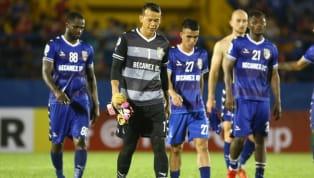 """Với những sai lầm """"khó hiểu"""" trong trận thua ở vòng bảng AFC Cup, thủ thành Bùi Tấn Trường sẽ bị câu lạc bộ Bình Dương treo giò hết giai đoạn lượt đi..."""