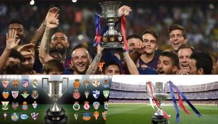 tới Mùa bóng 2019/20 sẽ chứng kiến không ít thay đổi quan trọng trong những giải đấu như Copa del Rey, Siêu Cup Tây Ban Nha, khả năng ra đời của Siêu League...