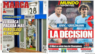 La prensa deportiva, como es habitual en época donde el fútbol de selecciones está presente, aprovecha para hablar de más rumorología que cuando el calendario...