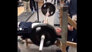 Notre Dame punter, yes, their punter, hit 30 reps on the bench press during their Pro Day on Wednesday. Yup, Tyler Newsomeis projected to go in the seventh...