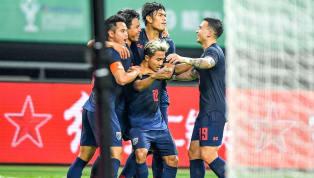  ฟุตบอลกระชับมิตร ไชนา คัพ 2019 ทีมชาติจีน 0-1 ทีมชาติไทย สนามกว่างซี สปอร์ต เซ็นเตอร์ , นครหนางหนิง, สาธารณรัฐประชาชนจีน การประสานงานระหว่าง 2 แข้ง เจลีก...