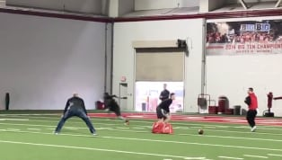Ohio State running back Mike Weber is hoping to turn some heads ahead of the NFL Draft.And one coach on the list he's hoping to impress is Matt Nagy, the...