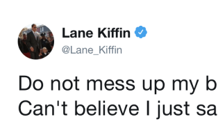 If Florida Atlantic head football coach Lane Kiffin was out and about running spring practice and making recruiting calls today -- you know, like he should...