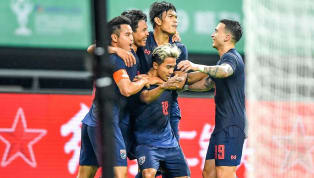  ฟุตบอลกระชับมิตร ไชนา คัพ 2019 ทีมชาติจีน 0-1 ทีมชาติไทย สนามกว่างซี สปอร์ต เซ็นเตอร์ , นครหนางหนิง, สาธารณรัฐประชาชนจีน...