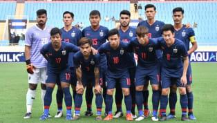 ฟุตบอล เอเอฟซี ยู-23 แชมเปี้ยนชิพ รอบคัดเลือก ทีมชาติไทย 4-0 ทีมชาติอินโดนีเซีย มีดินห์ สเตเดี้ยม, ฮานอย ประเทศเวียดนาม ภาพ :ฟุตบอลทีมชาติไทย ทีมชาติไทย...