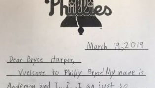 ​I'm sure Bryce Harper has received mixed reactions from baseball fans when he signed his ​10-year, $330 million deal with the ​Philadelphia Phillies.  It's...