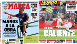 El diario As recoge en su portada el estreno de España ante Noruega en la fase de clasificación para la Euro 2020. Luis Enrique lo hará con una selección...