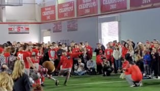 A lucky student atOhio State Universitywon free Chick-fil-A for an entire year on Saturday, after completing a field goal in what appears to be...
