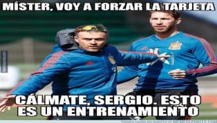 Este fin de semana se han paralizado las ligas puesto que hay puesto que hay encuentros de selecciones, pero hemos podido ver a la selección española de Luis...