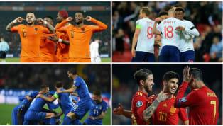 Les qualifications pour l'Euro 2020 ont débuté ce week-end; l'occasion de découvrir les effectifs de cessélections nationales qu'il faudrasurveiller de près...