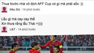 Người hâm mộ Việt Nam được một phen ăn mừng tưng bừng sau chiến thắng 4-0 của U23 Việt Nam trước U23 Thái Lan, và dĩ nhiên, những bình luận hài hước đã xuất...