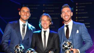 Huyền thoại Real Madrid Luis Figo mới đây đã khẳng định Sergio Ramos xứng đáng một lần được trao Quả Bóng Vàng 2018 vừa qua chứ không phải là Luka Modric....