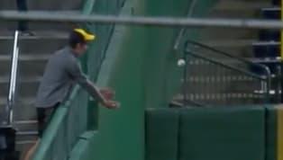 Cuando vas a un encuentro de béisbol siempre sueñas con poder quedarte con una pelota para el recuerdo. Es el gran anhelo de la mayoría de aficionados de...