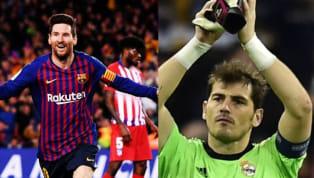 Iker Casillas era el futbolista que más partidos había ganado en la historia de LaLiga, con 334 partidos ganados, hasta que llegóMessi, que con la victoria...