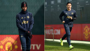 lash ​Manchester United welcomed Marcus Rashford and Alexis Sanchez back to training on Tuesday morning, ahead of their Champions League quarter-final clash...