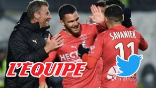 En cette soirée de quarts de finale de la Ligue des Champions, le match en retard opposant Nîmes à Rennes n'était pas forcément le plus attendu par les fans...