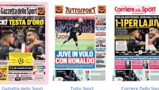Dopo il pareggio di Amsterdam (1-1) nell'andata dei quarti di finale di Champions League, c'è laJuventusal centro delle prime pagine dei quotidiani...