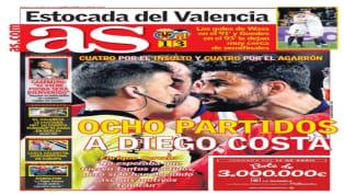 Los principales medios deportivos españoles han inaugurado su jornada de viernes con sus respectivas portadas, donde la medida punitiva aplicada sobre el...