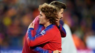 Présent en conférence de presse pour une promotion de son club le FC Andorra, Gérard Piqué est resté très évasif concernant un transfert d'Antoine Griezmann...