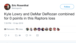 One would think the addition of Kawhi Leonard to thisRaptorsteam would end their playoff woes, but apparently not. Toronto is dreadful in the postseason,...