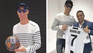 Cristiano Ronaldo a reçu un très beau cadeau d'un artiste colombien et ami du joueurprénomméMr Bling. Cristiano Ronaldoest habitué à recevoir des...