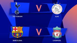 UEFA mới đây đã xác nhận ngày thi đấu cụ thể của hai cặp bán kết Champions League, theo đó cặp Tottenham Hotspur gặp Ajax là vào ngày 1/5, theo sau là...